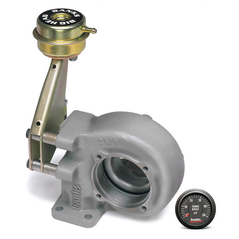 Banks Power 94-02 Dodge 5.9L Quick-Turbo System w/ Boost Gauge