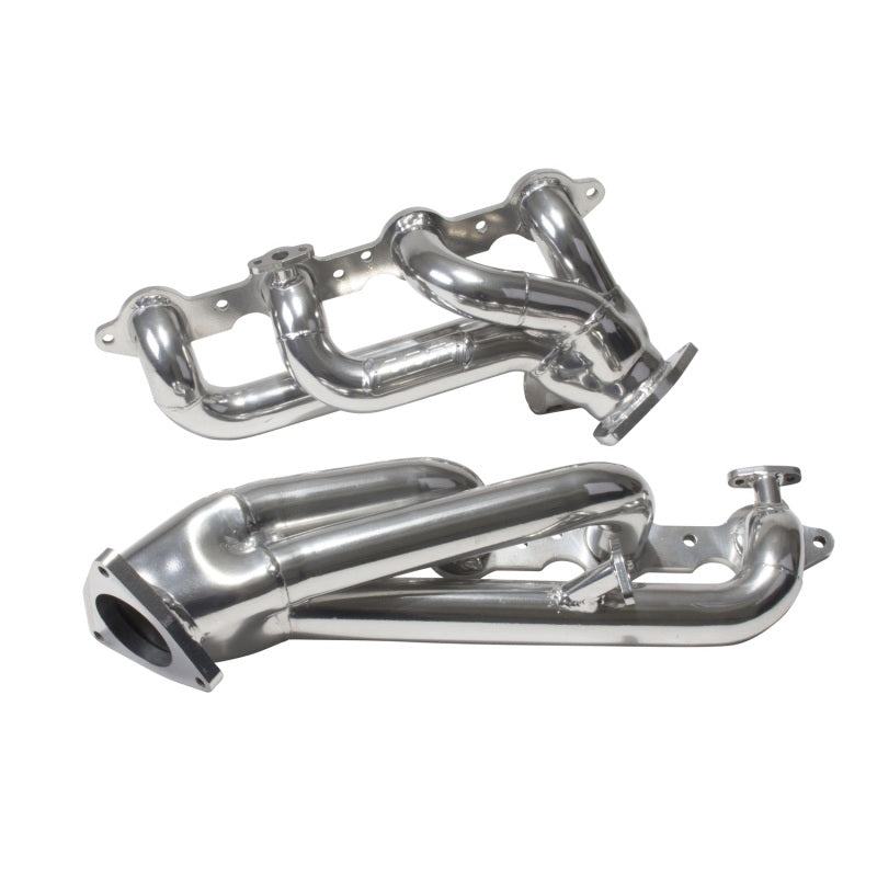 BBK 99-04 GM Truck SUV 4.8 5.3 Shorty Tuned Length Exhaust Headers - 1-3/4 Silver Ceramic