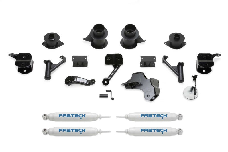 Fabtech 19-20 Ram 2500 4WD 5in Basic System w/Coil Spacers & Perf. Shocks