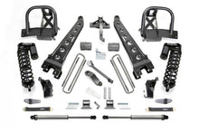 Load image into Gallery viewer, Fabtech 11-16 Ford F250 4WD 4in Radius Arm System w/DL 4.0 Coilovers & Rear DL Shocks