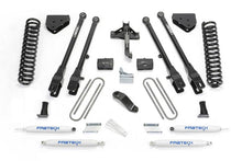 Load image into Gallery viewer, Fabtech 08-16 Ford F250/350 4WD 4in 4 Link System w/Perf. Shocks