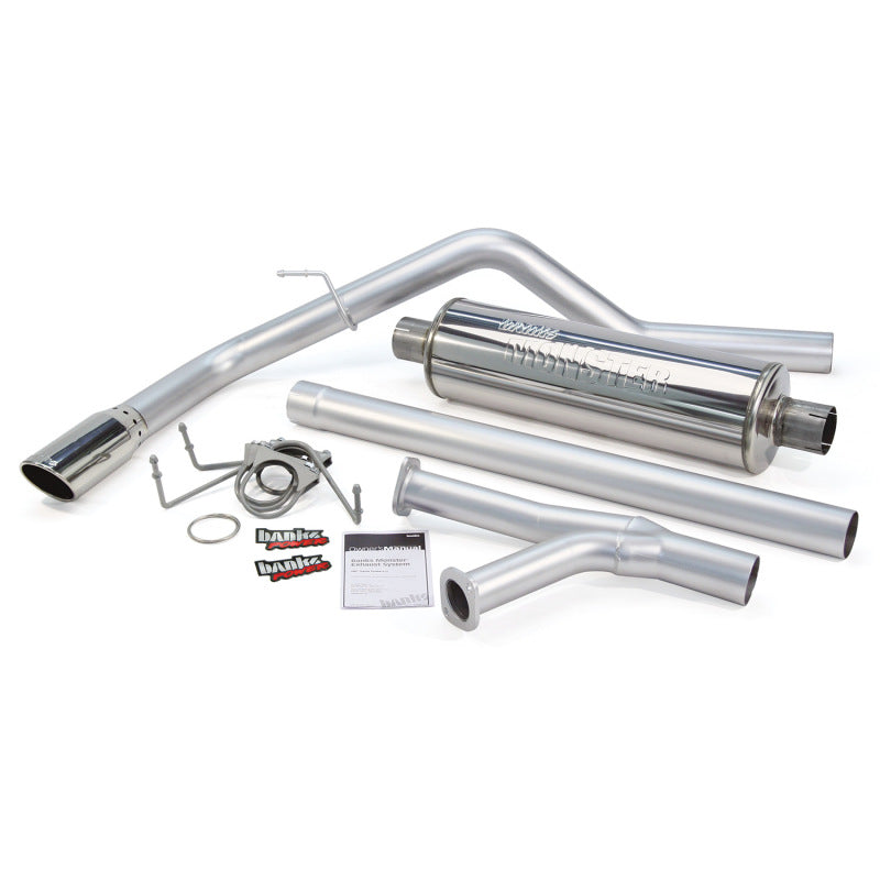 Banks Power 07-08 Toyota Tundra 5.7L RCSB Monster Exhaust System - SS Single Exhaust w/ Chrome Tip
