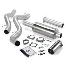 Load image into Gallery viewer, Banks Power 02-05 Chevy 6.6L EC/CCLB Monster Exhaust System - SS Single Exhaust w/ Chrome Tip