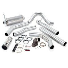 Load image into Gallery viewer, Banks Power 99 Ford 7.3L Cat Monster Exhaust w/ Power Elbow - SS Single Exhaust w/ Chrome Tip