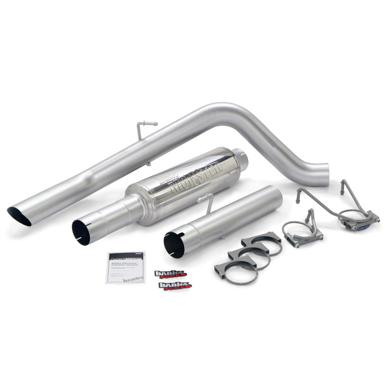 Banks Power 06-07 Dodge 325Hp Mega Cab Monster Sport Exhaust System
