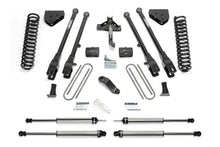 Load image into Gallery viewer, Fabtech 08-15 Ford F250/350 4WD 4in 4 Link System w/DL Shocks