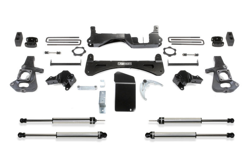 Fabtech 01-10 GM C/K2500HD C/K3500HD 6in RTS System w/DL Shocks