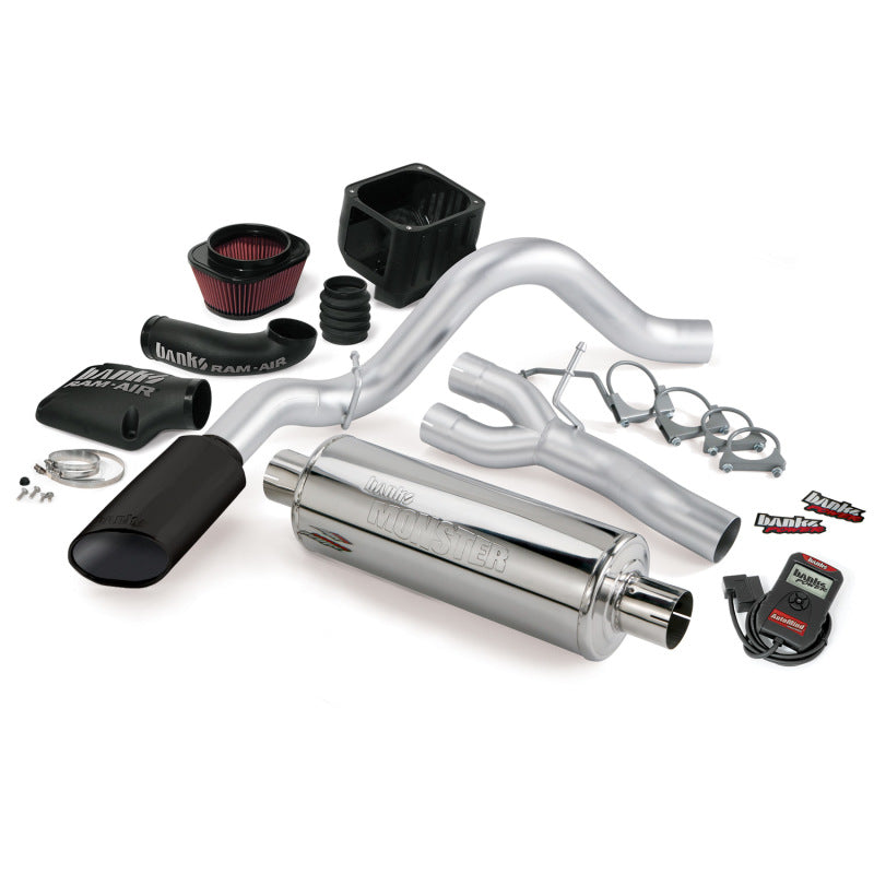 Banks Power 07-08 Chevy 6.0 Vortec Max CCSB Stinger System - SS Single Exhaust w/ Black Tip