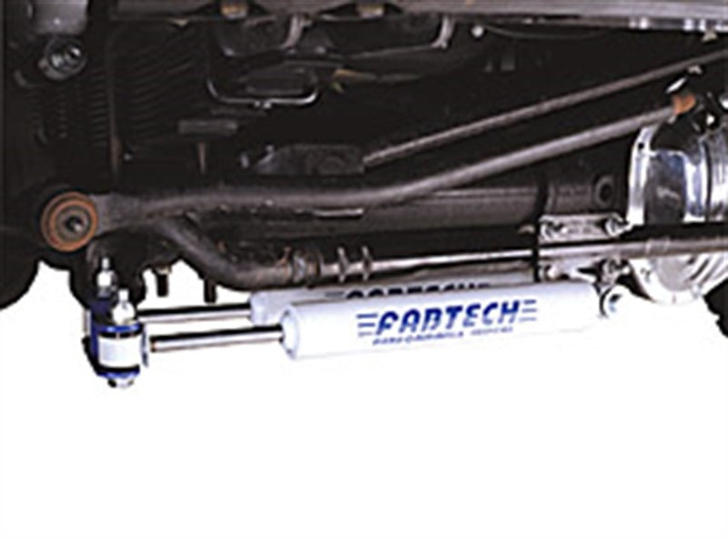 Fabtech 99-04 Ford F250/350 4WD Dual Performance Steering Stabilizer Kit