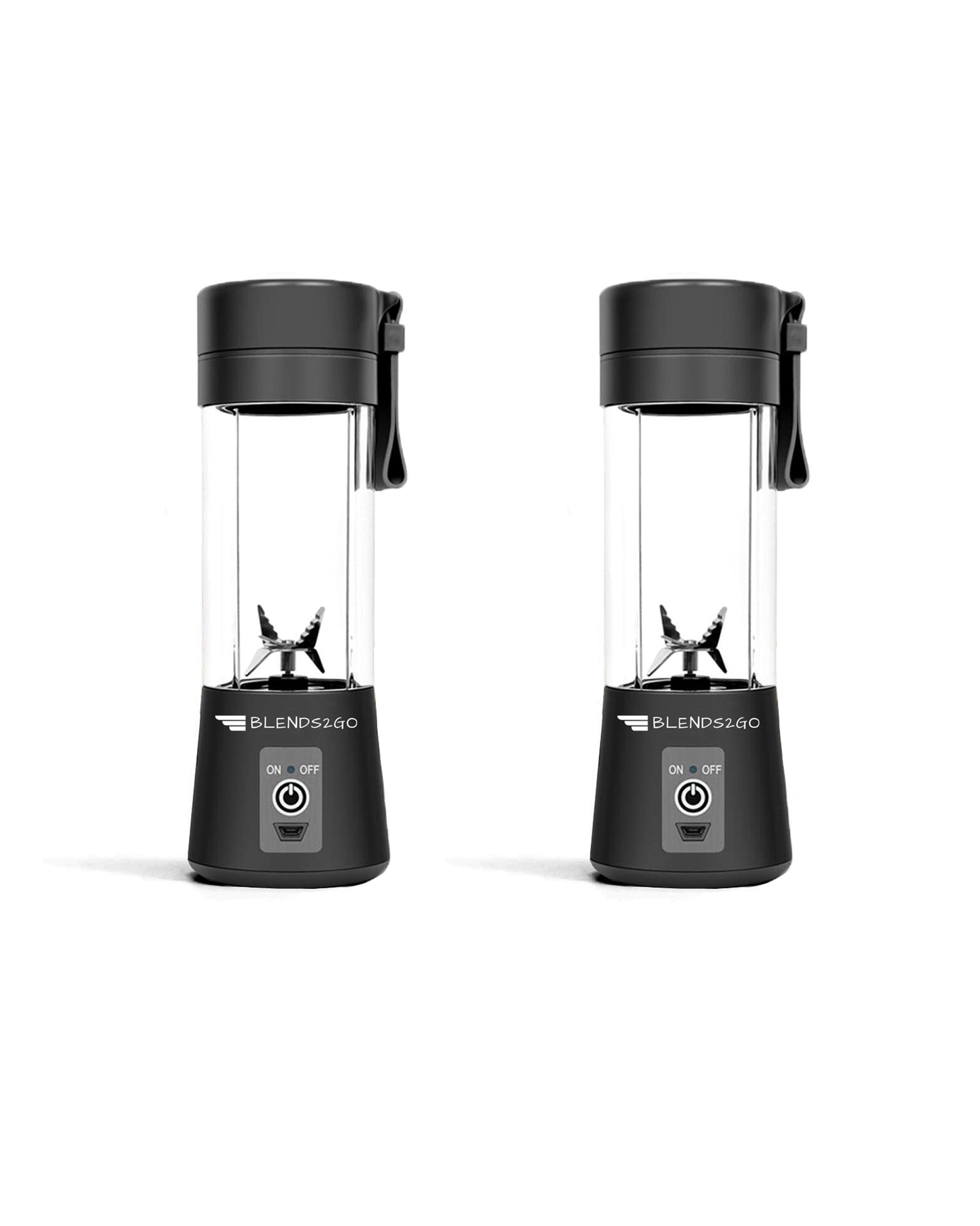 BEST VALUE!! 2x Blends2Go Blenders! - Double Your Skinny! 64% OFF!