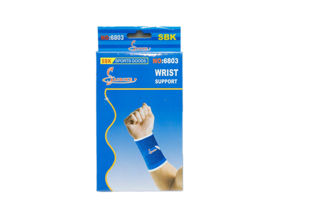 Adjustable Elasticized Fabric Wrist Support For Men & Women