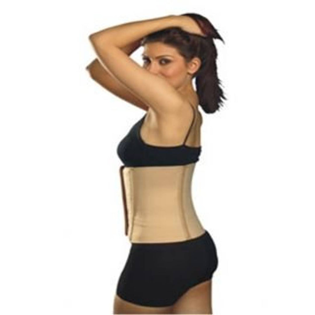 Abdominal Belt Waist Support Tummy Trimmer Back Support Binder Plan Beige Size-XXL