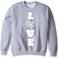 Load image into Gallery viewer, Straight Up & Down Love Crewneck Sweatshirt