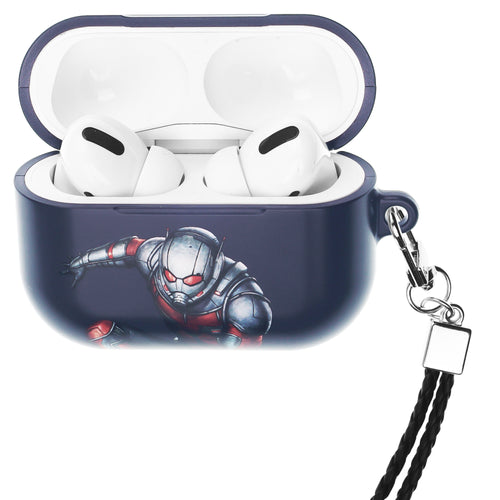 Marvel Avengers AirPods Pro Case Neck Lanyard Hard PC Shell Strap Hole Cover - Action Ant Man