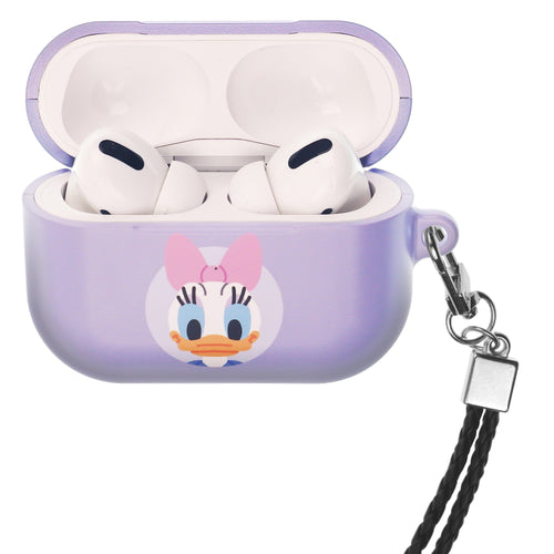 Disney AirPods Pro Case Neck Lanyard Hard PC Shell Strap Hole Cover - Baby Daisy Duck