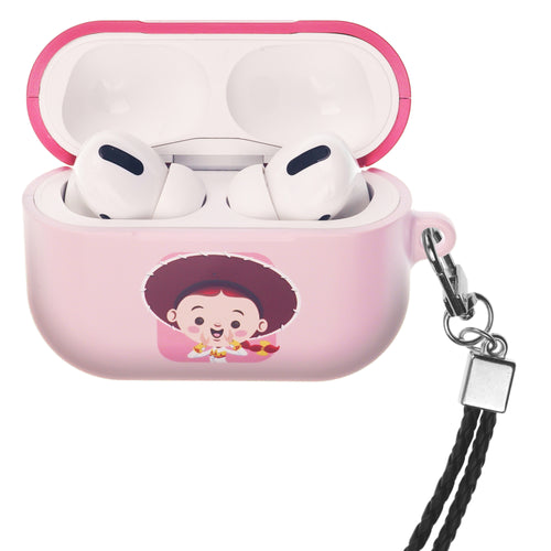 Disney AirPods Pro Case Neck Lanyard Hard PC Shell Strap Hole Cover - Toy Story Baby Jessie