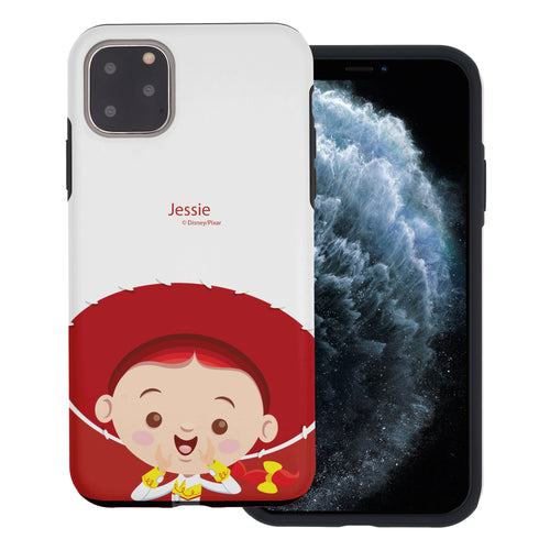 iPhone 11 Pro Max Case (6.5inch) Toy Story Layered Hybrid [TPU + PC] Bumper Cover - Baby Jessie