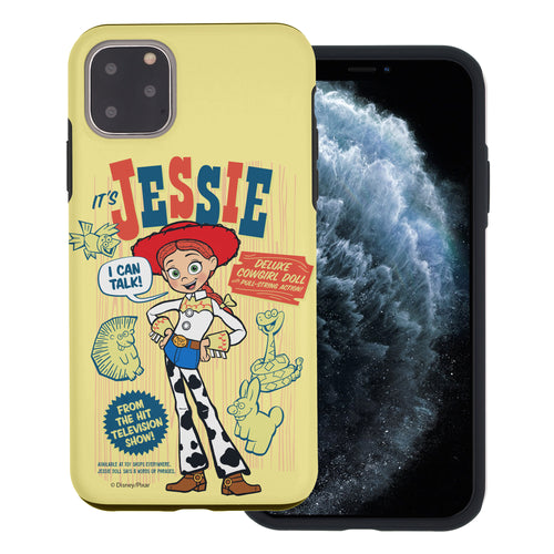 iPhone 11 Case (6.1inch) Toy Story Layered Hybrid [TPU + PC] Bumper Cover - Full Jessie