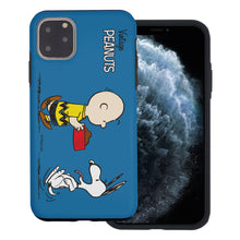 Load image into Gallery viewer, iPhone 11 Pro Max Case (6.5inch) PEANUTS Layered Hybrid [TPU + PC] Bumper Cover - Cute Snoopy Food