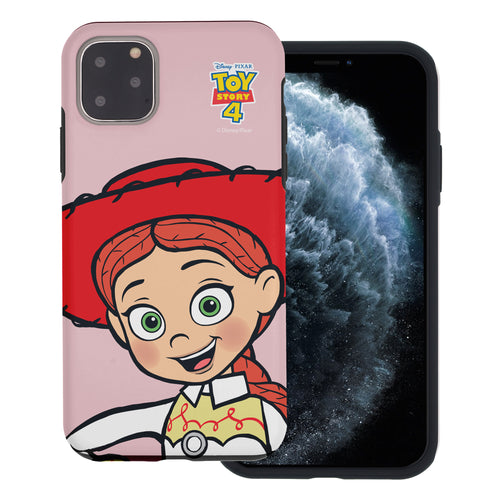 iPhone 11 Case (6.1inch) Toy Story Layered Hybrid [TPU + PC] Bumper Cover - Wide Jessie