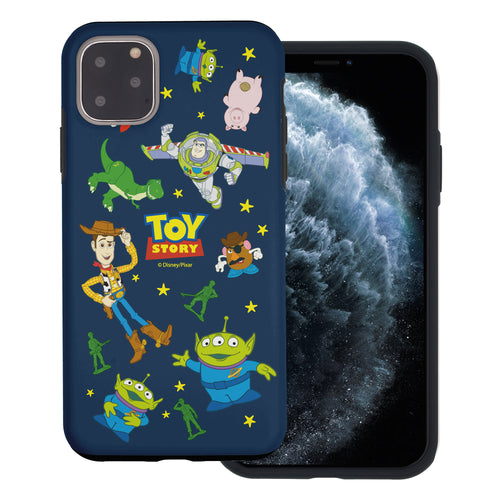 iPhone 11 Pro Max Case (6.5inch) Toy Story Layered Hybrid [TPU + PC] Bumper Cover - Pattern Toy Story