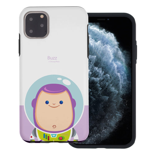 iPhone 11 Case (6.1inch) Toy Story Layered Hybrid [TPU + PC] Bumper Cover - Baby Buzz