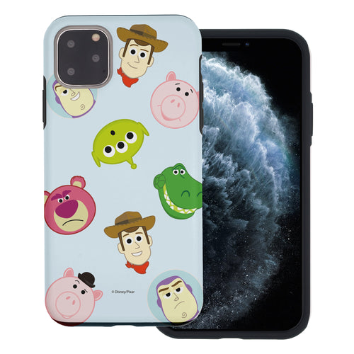 iPhone 11 Pro Max Case (6.5inch) Toy Story Layered Hybrid [TPU + PC] Bumper Cover - Pattern Face