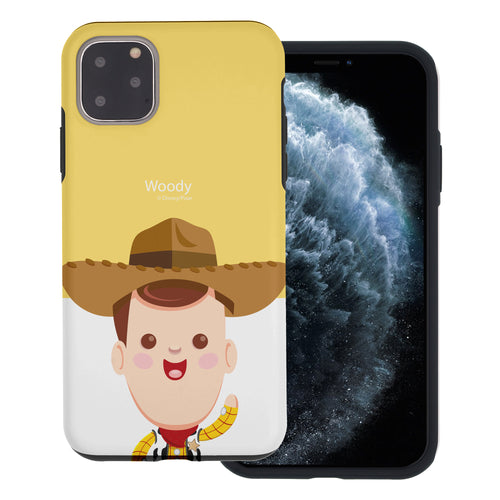 iPhone 11 Case (6.1inch) Toy Story Layered Hybrid [TPU + PC] Bumper Cover - Baby Woody