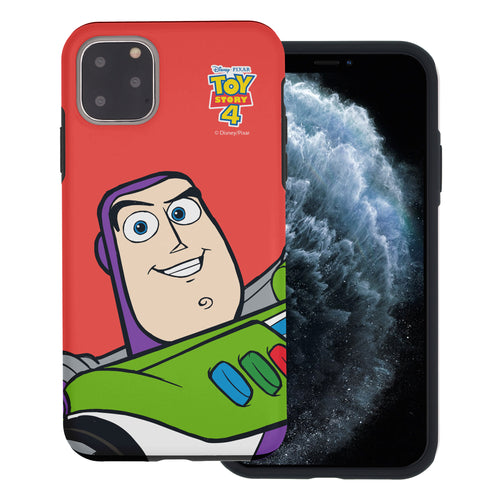 iPhone 11 Case (6.1inch) Toy Story Layered Hybrid [TPU + PC] Bumper Cover - Wide Buzz