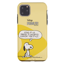 Load image into Gallery viewer, iPhone 11 Pro Max Case (6.5inch) PEANUTS Layered Hybrid [TPU + PC] Bumper Cover - Cartoon Snoopy Style