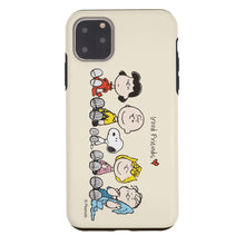 Load image into Gallery viewer, iPhone 11 Pro Max Case (6.5inch) PEANUTS Layered Hybrid [TPU + PC] Bumper Cover - Peanuts Friends Sit