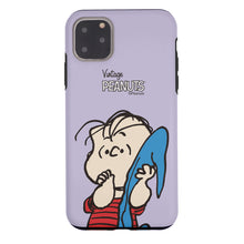 Load image into Gallery viewer, iPhone 11 Case (6.1inch) PEANUTS Layered Hybrid [TPU + PC] Bumper Cover - Face Linus