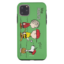 Load image into Gallery viewer, iPhone 12 Pro Max Case (6.7inch) PEANUTS Layered Hybrid [TPU + PC] Bumper Cover - Cute Peanuts Baseball