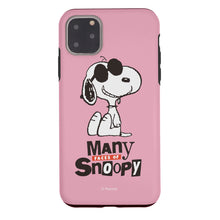 Load image into Gallery viewer, iPhone 11 Pro Case (5.8inch) PEANUTS Layered Hybrid [TPU + PC] Bumper Cover - Snoopy Face Baby pink