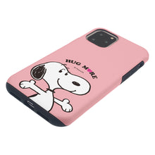 Load image into Gallery viewer, iPhone 12 Pro Max Case (6.7inch) PEANUTS Layered Hybrid [TPU + PC] Bumper Cover - Hug Snoopy