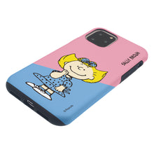 Load image into Gallery viewer, iPhone 11 Case (6.1inch) PEANUTS Layered Hybrid [TPU + PC] Bumper Cover - Diagonal Sally