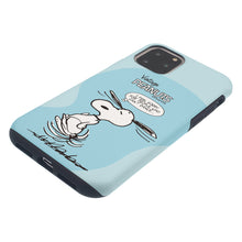 Load image into Gallery viewer, iPhone 12 Pro Max Case (6.7inch) PEANUTS Layered Hybrid [TPU + PC] Bumper Cover - Cartoon Snoopy Dance
