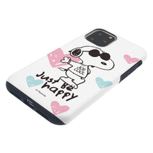 Load image into Gallery viewer, iPhone 11 Pro Max Case (6.5inch) PEANUTS Layered Hybrid [TPU + PC] Bumper Cover - Snoopy Love Pink
