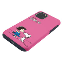 Load image into Gallery viewer, iPhone 11 Pro Case (5.8inch) PEANUTS Layered Hybrid [TPU + PC] Bumper Cover - Small Snoopy Lucy