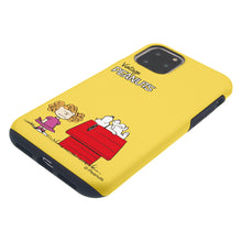 Load image into Gallery viewer, iPhone 11 Pro Case (5.8inch) PEANUTS Layered Hybrid [TPU + PC] Bumper Cover - Small Snoopy House