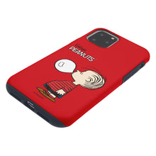 Load image into Gallery viewer, iPhone 12 Pro Max Case (6.7inch) PEANUTS Layered Hybrid [TPU + PC] Bumper Cover - Simple Linus