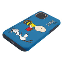 Load image into Gallery viewer, iPhone 11 Pro Case (5.8inch) PEANUTS Layered Hybrid [TPU + PC] Bumper Cover - Cute Snoopy Food