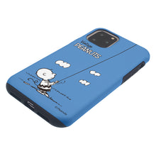 Load image into Gallery viewer, iPhone 11 Case (6.1inch) PEANUTS Layered Hybrid [TPU + PC] Bumper Cover - Small Charlie Brown
