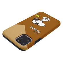 Load image into Gallery viewer, iPhone 11 Case (6.1inch) PEANUTS Layered Hybrid [TPU + PC] Bumper Cover - Vivid Snoopy Woodstock