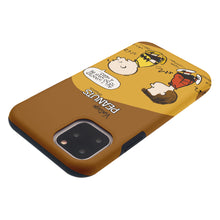 Load image into Gallery viewer, iPhone 12 Pro / iPhone 12 Case (6.1inch) PEANUTS Layered Hybrid [TPU + PC] Bumper Cover - Cartoon Hero