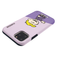 Load image into Gallery viewer, iPhone 11 Case (6.1inch) PEANUTS Layered Hybrid [TPU + PC] Bumper Cover - Diagonal Schroeder