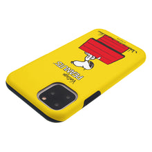 Load image into Gallery viewer, iPhone 11 Pro Case (5.8inch) PEANUTS Layered Hybrid [TPU + PC] Bumper Cover - Simple Snoopy House