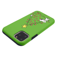 Load image into Gallery viewer, iPhone 11 Pro Max Case (6.5inch) PEANUTS Layered Hybrid [TPU + PC] Bumper Cover - Christmas Cookie Snoopy