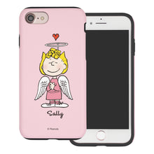 Load image into Gallery viewer, iPhone 5S / iPhone 5 / iPhone SE (2016) Case PEANUTS Layered Hybrid [TPU + PC] Bumper Cover - Sally Heart Stand