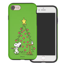 Load image into Gallery viewer, iPhone SE 2020 / iPhone 8 / iPhone 7 Case (4.7inch) PEANUTS Layered Hybrid [TPU + PC] Bumper Cover - Christmas Cookie Snoopy